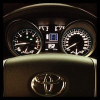 Photo taken at Ciudad Toyota by Isaac M. on 5/24/2013