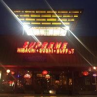 Photo taken at Supreme Hibachi Buffet by Andy M. on 4/28/2016