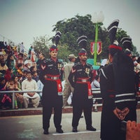 Photo taken at Wagah Border - India Pakistan Border by Azeem A. on 11/6/2015