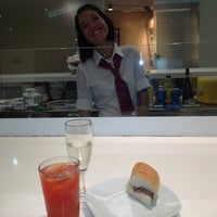 """Photo taken at Alitalia Lounge """"Giotto"""" by Andrea B. on 7/21/2013"""