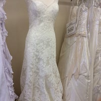 Photo taken at Anna's Bridal Boutique by Lynn A. on 2/19/2014