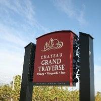 Photo taken at Chateau Grand Traverse by Chateau Grand Traverse on 4/7/2014