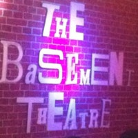 Photo taken at The Basement Theatre by Kimberly B. on 2/1/2013