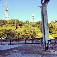 Photo taken at 眉山公園 by Syunsuke F. on 8/12/2013