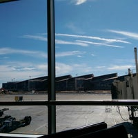 Photo taken at Gate 43 by Kevin Tyler B. on 7/18/2014