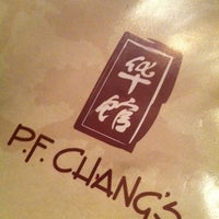 Photo taken at P.F. Chang's by Shawn A. on 11/23/2012