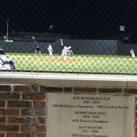 Photo taken at Richardson High School Baseball Field by Kirsten O. on 4/12/2014