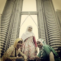 Photo taken at KLCC  Twin Tower by Yana n. on 4/18/2013