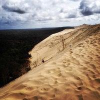 Photo taken at Dune du Pyla by pol n. on 5/2/2014