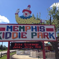 Photo taken at Memphis Kiddie Park by Rick U. on 8/4/2013