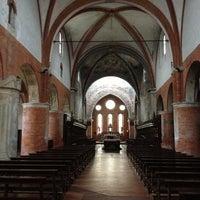 Photo taken at Abbazia di Chiaravalle by Marco L. on 11/17/2012