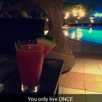 Photo taken at Majestic Hotel Dubai Rooftop Pool by Zainab ~. on 9/17/2015