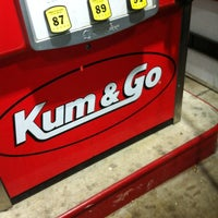 Photo taken at Kum & Go by Frank M. on 11/10/2013