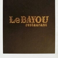 Photo taken at Le Bayou Restaurant by Jen P. on 5/15/2013