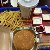 Photo taken at Burger King by Mehmet Salih Y. on 7/7/2014