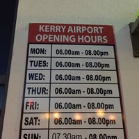 Photo taken at Kerry Airport (KIR) by Nikolay A. on 3/25/2016