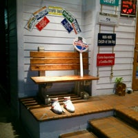 Photo taken at Bubba Gump Shrimp Co. by Ashlyn M. on 2/21/2013