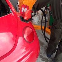 Photo taken at Gasolinería by Ignacio B. on 10/17/2014