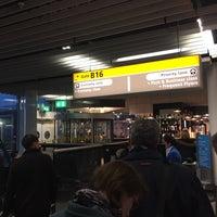 Photo taken at Gate B16 by Tijs T. on 11/23/2015