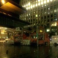 Photo taken at Tokyo Sankei Building by Saku Y. on 6/26/2013
