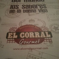 Photo taken at El Corral Gourmet by Andrea V. on 7/20/2013