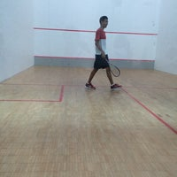 Photo taken at Squash Court @ Catholic High School by Kam Y. on 7/14/2014