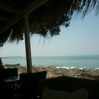 Photo taken at Anemos Beach Bar by Basilis on 7/30/2012