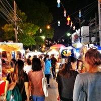 Photo taken at Chiang Rai Walking Street by suppat c. on 9/1/2012