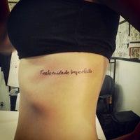 Photo taken at Black Ball Crew Tattoo Studio by Macarena G. on 4/10/2014