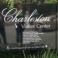 Photo taken at Charleston Visitor Center by Ric L. on 4/21/2013