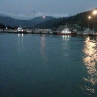 Photo taken at Pelabuhan Merak by Felix A. on 4/22/2013