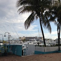 Photo taken at Port Lucaya Marina by Stephan I. on 5/4/2013