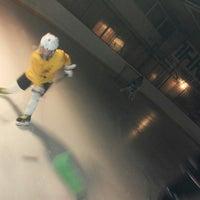 Photo taken at Talsu hokeja klubs (Talsi Ice Hockey club) by Munise G. on 1/9/2015