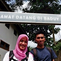 Photo taken at Wisata Suku Baduy by trisca on 6/18/2014