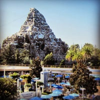 Photo taken at Matterhorn Bobsleds by William L. on 8/25/2013