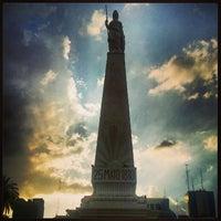 Photo taken at Plaza de Mayo by Alejandro F. on 2/13/2013