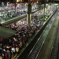 Photo taken at Estação Brás (CPTM) by César d. on 5/2/2013