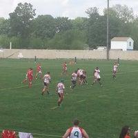 Photo taken at A. A. Garthwaite Stadium by Delicacheena on 5/17/2014