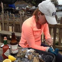 Photo taken at Hog Island Oyster Farm by Brian M. on 7/24/2013