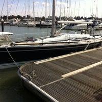 Photo taken at Hamble Point Marina by Henk B. on 3/12/2013