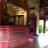 Photo taken at Yaang Come Village Hotel Chiang Mai by Yuktiwat S. on 8/16/2015