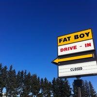 Photo taken at Fat Boy Drive-In by Steve T. on 3/19/2012