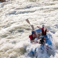 Photo taken at U.S. National Whitewater Center by U.S. National Whitewater Center on 4/29/2014