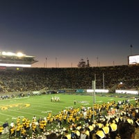 Photo taken at California Memorial Stadium by Gabriela G. on 10/7/2012