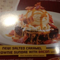 Photo taken at Denny's by Cassie D. on 4/15/2013