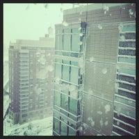 Photo taken at Boston University Student Village Two by Michael D. on 2/9/2013