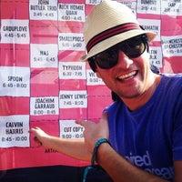 Photo taken at Lollapalooza Bud Light Stage by Eraldo B. on 8/3/2014