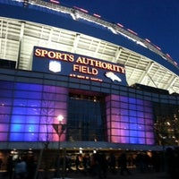 Photo taken at Sports Authority Field at Mile High by Natasha M. on 12/31/2012