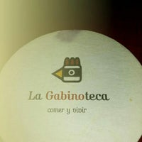 Photo taken at La Gabinoteca by Raquel C. on 11/15/2012