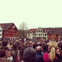Photo taken at Landsgemeindeplatz by Sven E. on 4/28/2013